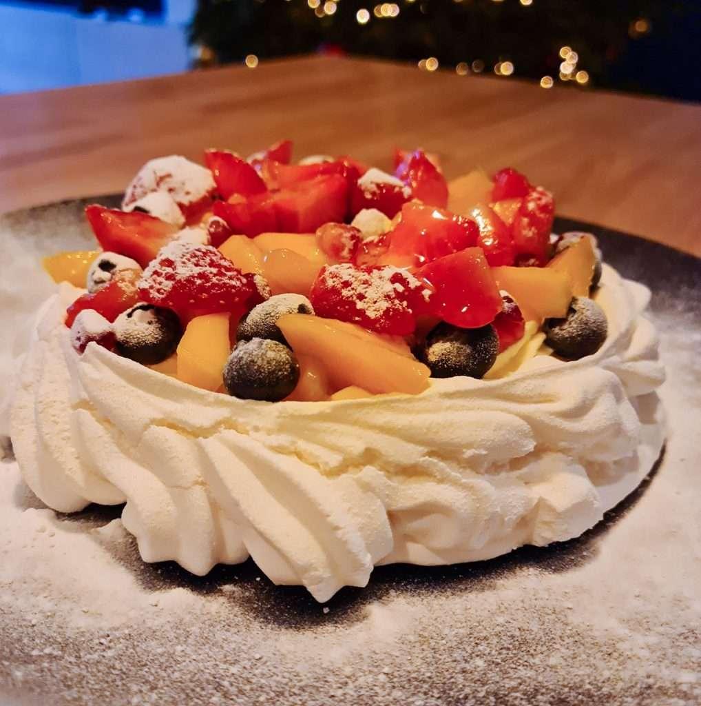 Pavlova taart